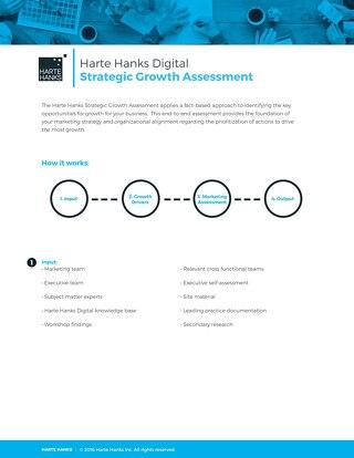Harte Hanks Digital Strategic Assessment