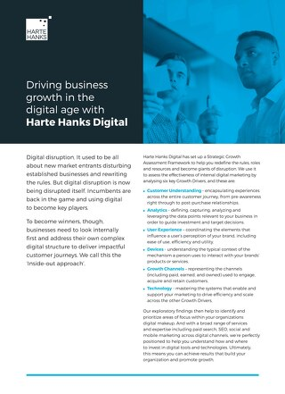Driving business growth in the digital age with Harte Hanks