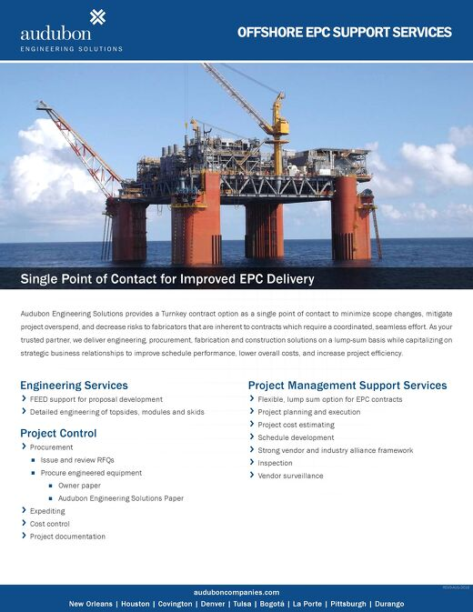 Offshore EPC Support Services