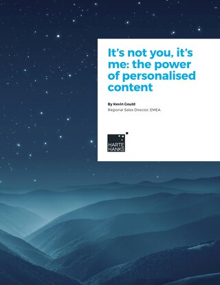 It's not you, it's me: the power of personalised content