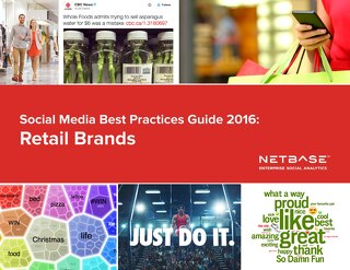 Social Media Best Practices Guide 2016: Retail Brands