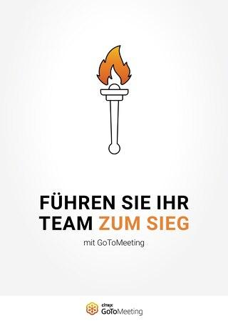 Führen Sie Ihr Team zum Sieg mit GoToMeeting