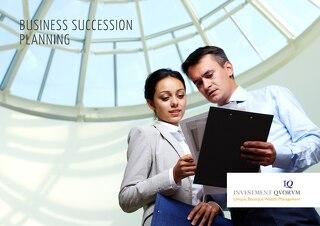 IQ Business succession planning