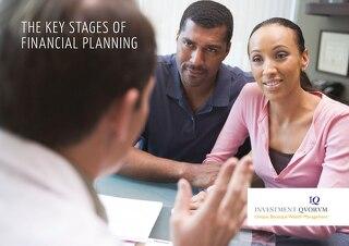 IQ The key stages of financial planning