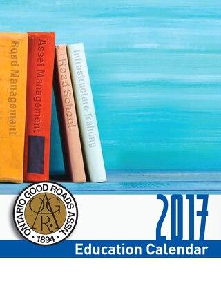 2017 Course Calendar DIGITAL FINAL