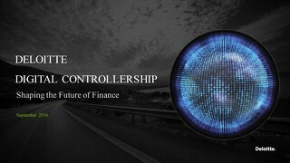Deloitte Moving to the Digital Controllership