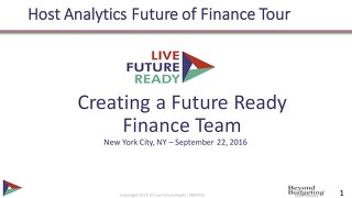 Creating a Future Ready Finance Team