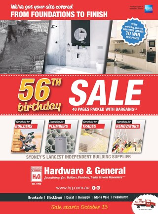 56th Birthday Sale Specials Pages 1-10