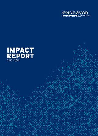 Endeavor Lebanon Impact Report 2015-2016
