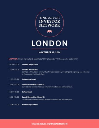 EIN London Agenda (Investor)