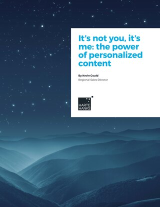 It's not you, it's me: the power of personalized content
