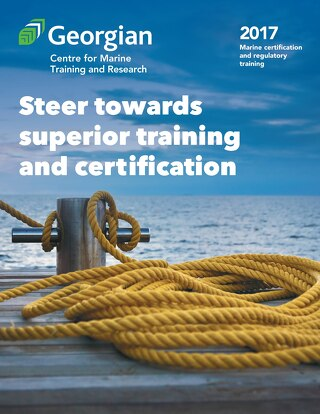 Marine certification and regulatory training 2017