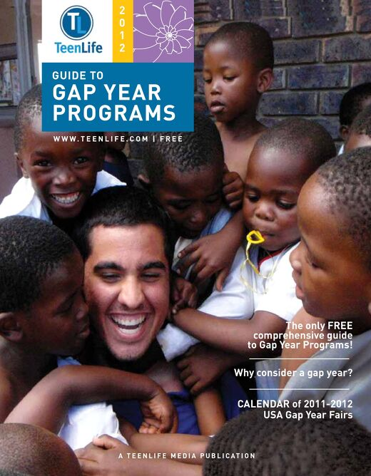 2012 Guide to Gap Year Programs