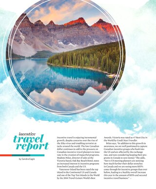 Incentive Travel Report 2016