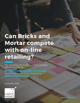 Can Bricks and Mortar Compete with On-line Retailing?