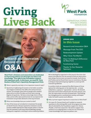 Getting Lives Back Newsletter - Spring 2016