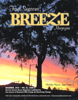 Four Seasons Beaumont Breeze December 2016