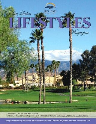 Sun Lakes Lifestyles December 2016