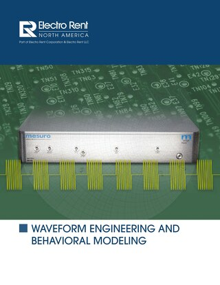 Waveform Engineering and Behaviorial Modeling