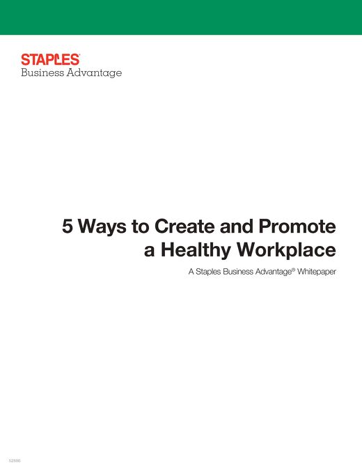 5 Ways to Create and Promote a Healthy Workplace