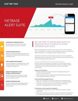 NetBase Alert Suite