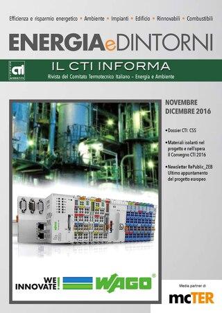 Energia e Dintorni - Novembre-Dicembre 2016