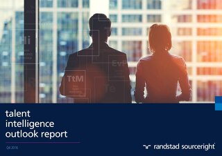 Randstad Sourceright Talent Intelligence Outlook Q4 2016