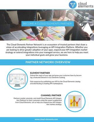 Cloud Elements Partner Network
