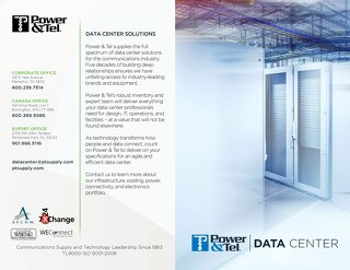 Power&Tel CAN Data Center Overview 2017