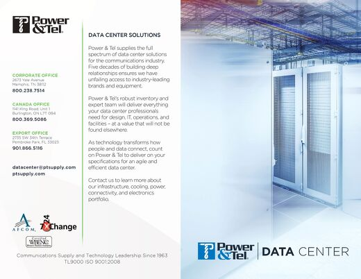 Power&Tel US Data Center Overview 2017