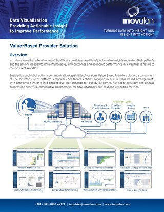 Data Diagnostics® - Real-Time Analytics at the Point of Care
