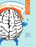 大脑的图像,肌肉和文字,继续尝试