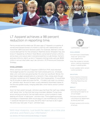LT Apparel Case Study