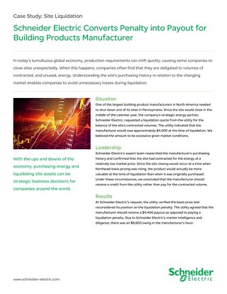 Manufacturing: Building Product Manufacturer