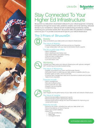 Stay Connected to Your Higher Ed Infrastructure
