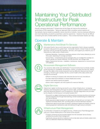 Maintaining Your Distributed Infrastructure for Peak Operational Performance