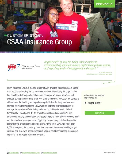 CSAA Insurance Group - Customer Story