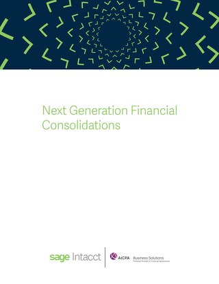 Next Generation Financial Consolidations