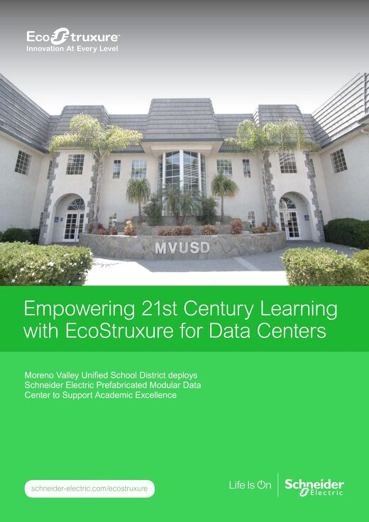 Empowering 21st Century Learning with EcoStruxure for Data Centers
