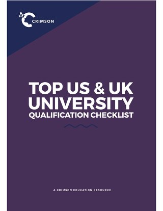 Top US/UK University Qualification Checklist