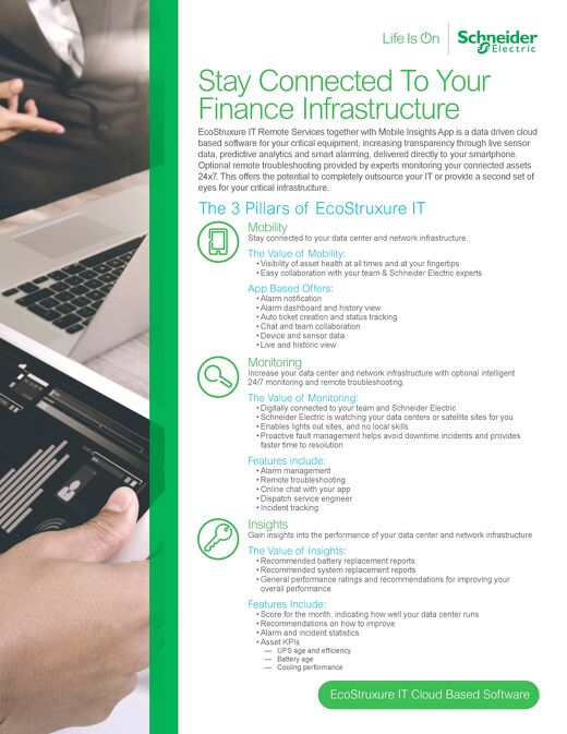 Stay Connected To Your Finance Infrastructure