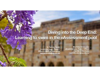 AOT Singapore Diving into the Deep End Learning to swim in the eAssessment pool