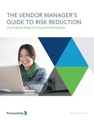 The Vendor Managers Guide to Risk Reduction