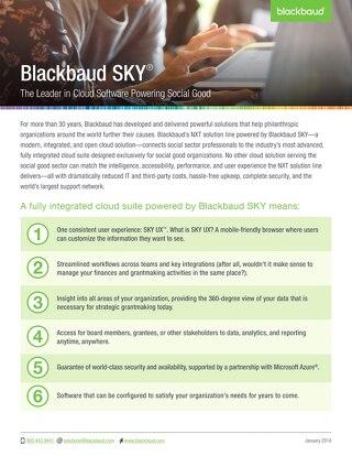 Blackbaud SKY
