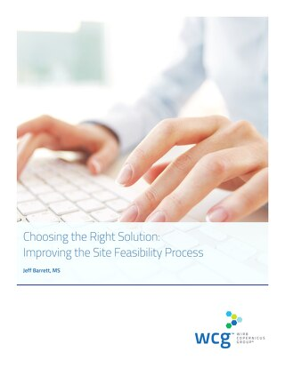Choosing the Right Solution: Improving the Site Feasibility Process