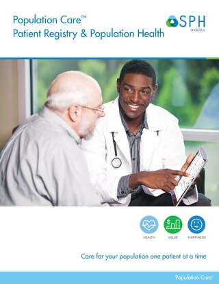 Brochure - Population Health & Patient Registry