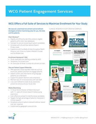 Patient Engagement Services Overview