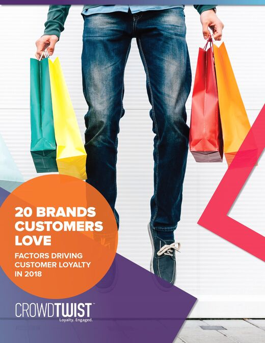 20 Brands Customers Love: Factors Driving Customer Loyalty in 2018