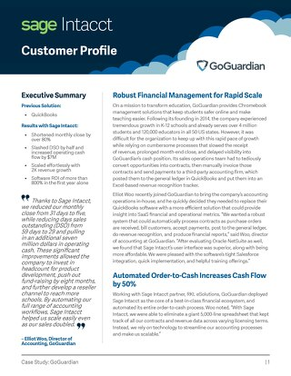 GoGuardian Customer Success Story