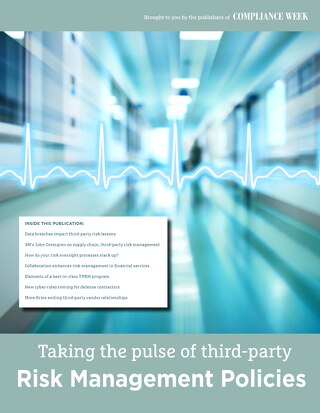 Taking the Pulse of Third-Party Risk Management Policies